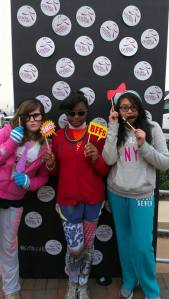 Fun Photo Booth at our 5k in Dec 2013