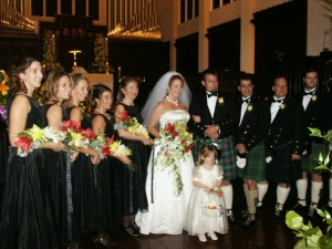Our beautiful wedding November 2004.
